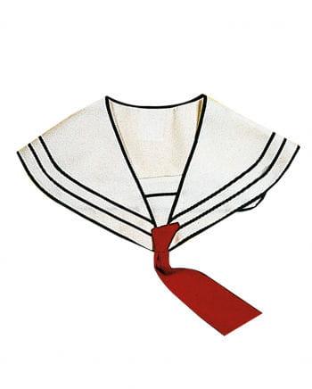 Sailor collar white-blue