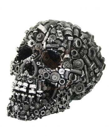 Steampunk Skull with hoary screws