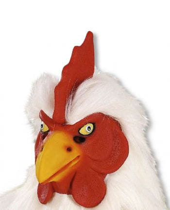 Hühner Maske Weiß