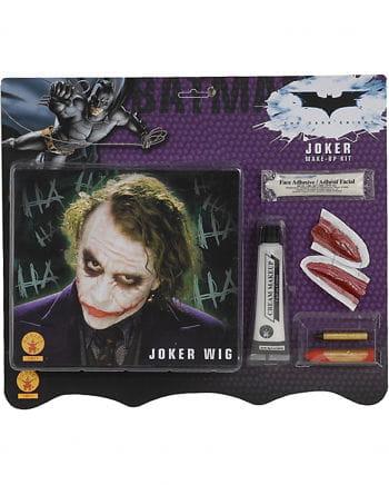 Joker Wig And Make Up Kit