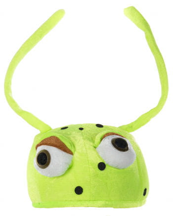 Beetle Hat With Green Eyes