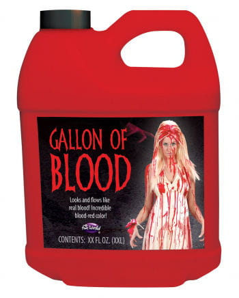 Canister of Blood 3.7 liters