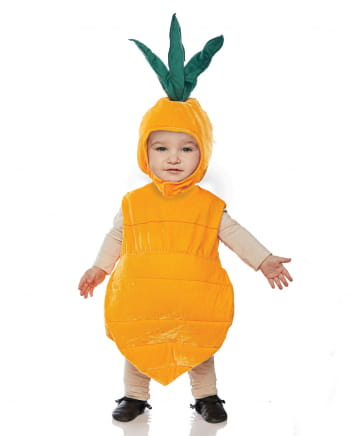 Karotten Kleinkinderkostüm