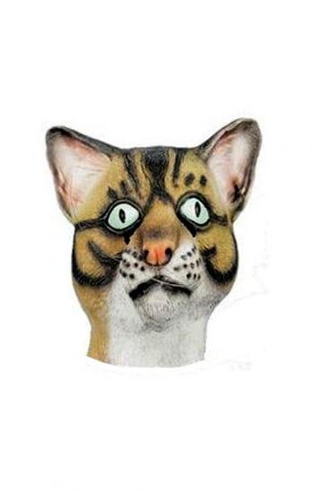 Katzen Maske aus Latex