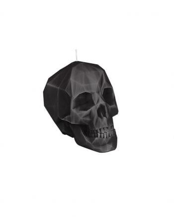 Candle Crystal Skull black