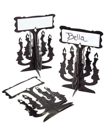 Candlestick Table Cards 12 Pcs
