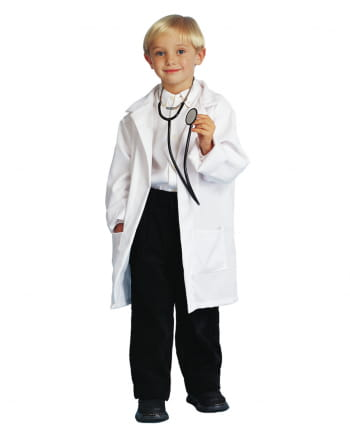 Child Doctor Coat White