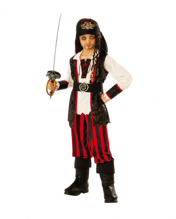 Little Pirate Captain Costume For Children