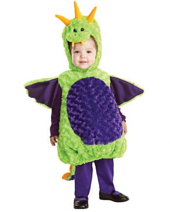 Little plush dragon baby costume