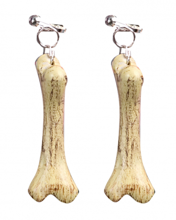 Stone Age bone earrings