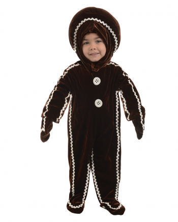 Delicious gingerbread man costume Large