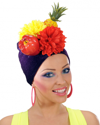 Miranda Costume Hat With Fruits