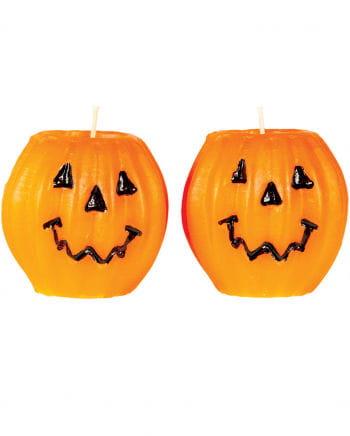 Pumpkin Candles 2-pack
