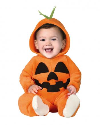 Kürbis Plüsch Kostüm Jumpsuit für Kleinkinder