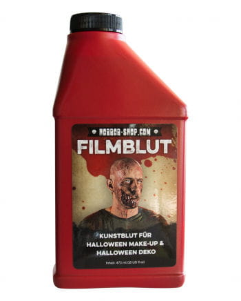 Kunstblut Filmblut Fur Halloween Als Theaterblut Horror Shop Com