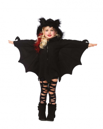 Kuscheliges Fledermaus Cape für Kinder