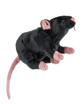 Kuscheltier Ratte 19cm grau