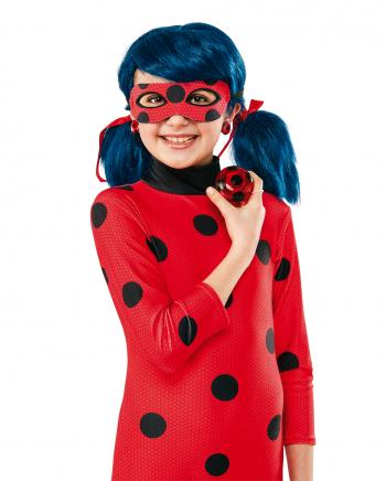 Ladybug JoJo And Clip Earrings For Girls
