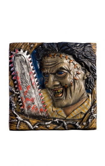 Leatherface Wall Painting