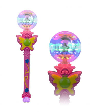 LED Butterfly Spinning Cosplay scepter