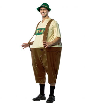 Leather Pants Hoopster Costume