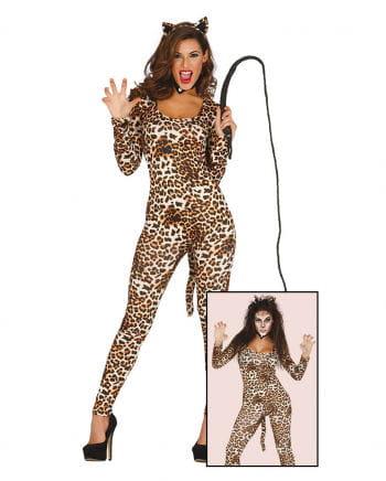 Leoparden Catsuit Damenkostüm