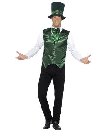 St. Patrick's Day costume with hat
