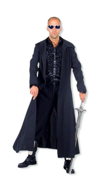 Mantel schwarz lange jacke schwarzer langer mantel horror - Schwarzer langer mantel ...