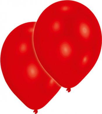 Metallic rote Luftballons 50 St.