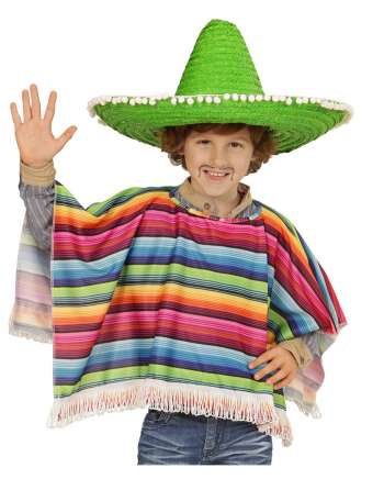 Mexican Poncho For Children