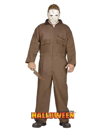 Michael Myers Kostüm mit PVC Maske