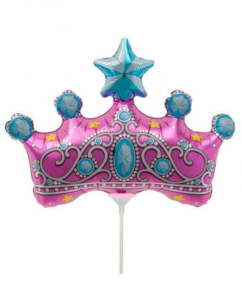 Mini foil balloon Princess Crown