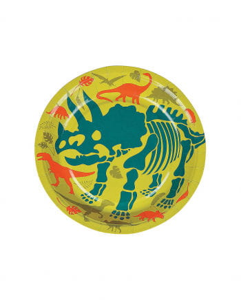 Mini Paper Plate Dinosaur