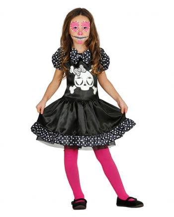 Miss Skeleton Girl Costume