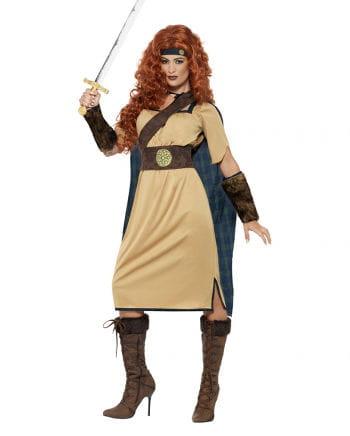 Mittelalter Kriegerin Damenkostüm