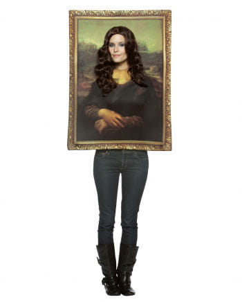 mona lisa portrait kost m jetzt online kaufen horror. Black Bedroom Furniture Sets. Home Design Ideas