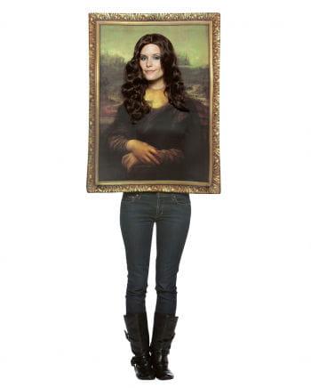Mona Lisa Portrait Kostüm