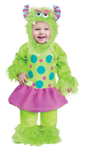 Terror im Tütü Babykostüm grün