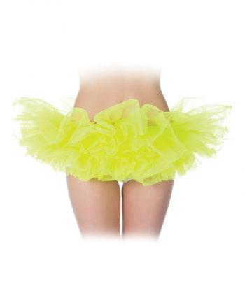 Neon-Yellow Ballet Tutu