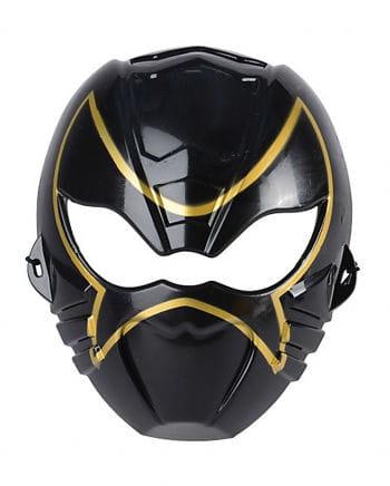 Kinder Ninja Maske schwarz