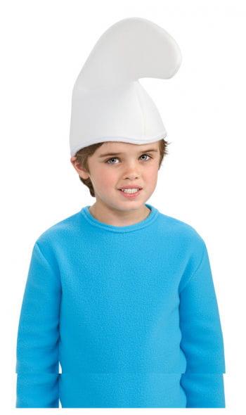 Weiße Schlumpfmütze für Kinder