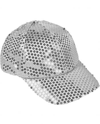 Sequin Cap Silver