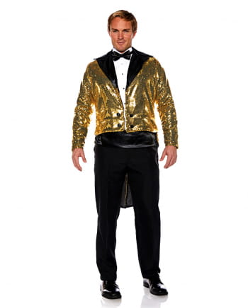 Sequins Costume Tailcoat gold