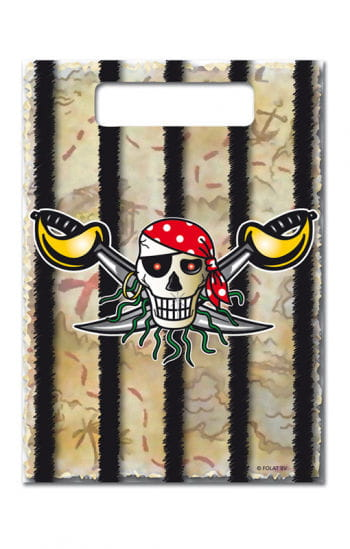 Red Pirate Party Bags
