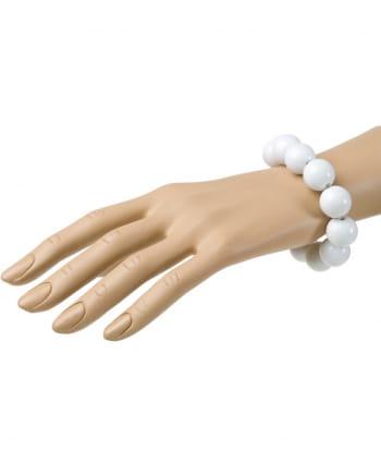 White 70's Pearl Bracelet