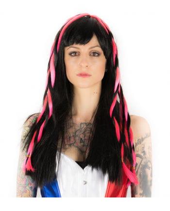 Cyber Gothic Wig black / pink
