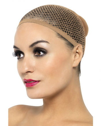 Wig stocking skin color net