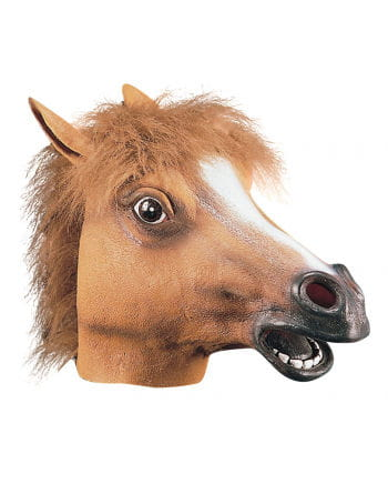 Horse Mask Made Of Latex