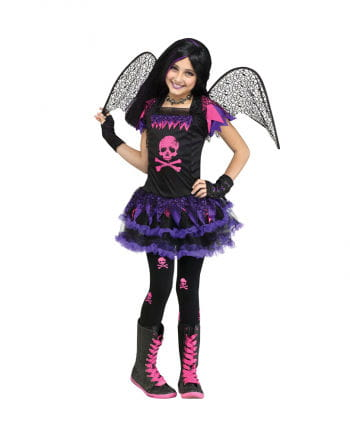 Pinkes Skull Fairy Kostüm