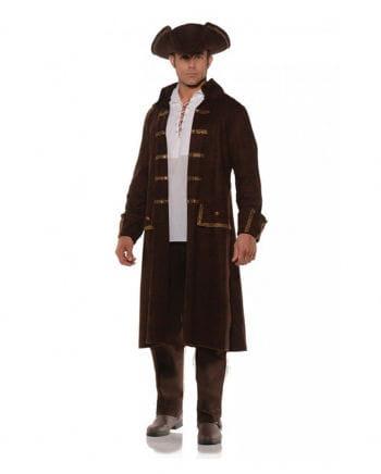 Piraten Kostüm Mantel mit Hut